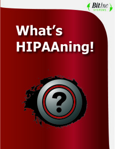 What's HIPAAning